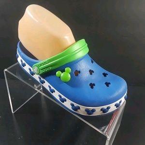 Croft Youth Blue Clogs Mules Shoes Size J 3
